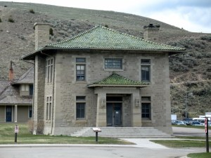 In Mammoth Springs (about 60 miles from our resort) there was this interesting building which said it was the United States Engineer Office. Come again?