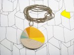 Sunset necklace by astree { SOLD }